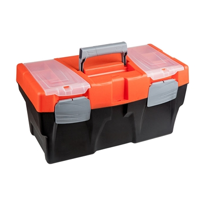 16 in. Plastic Tool Box